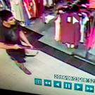 This Friday, Sept. 23, 2016 frame from surveillance video provided by the Washington State Patrol shows the suspect in a shooting rampage at the Cascade Mall in Burlington, Wash