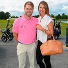 Brian McFadden and Vogue Williams in 2013