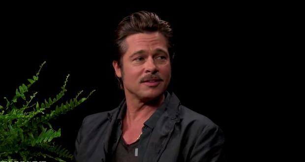 Brad Pitt on Funny or Die's Between Two Ferns in 2014