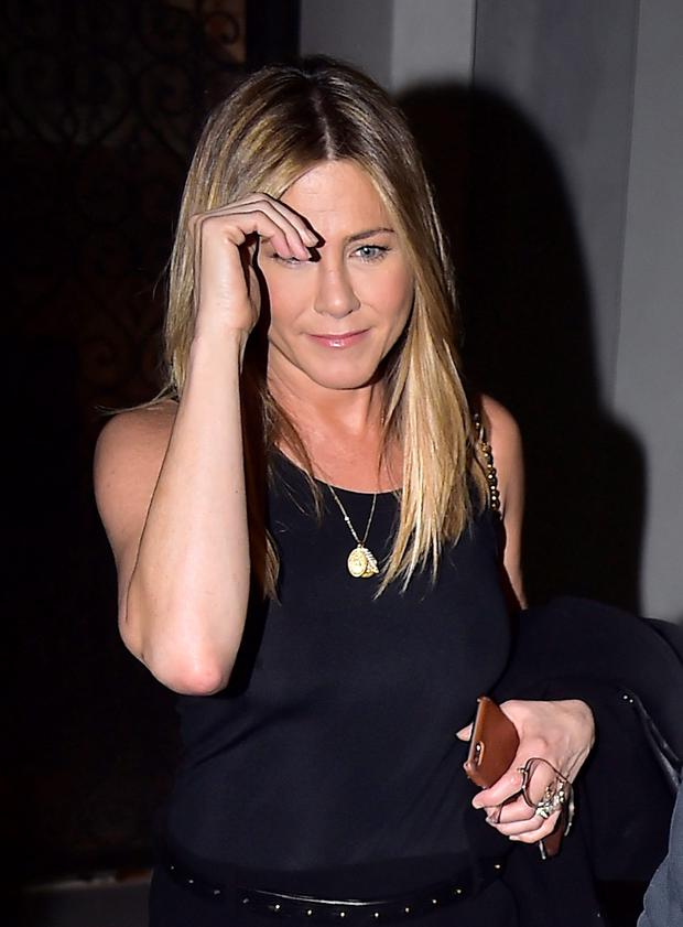 Jennifer Aniston is seen in the West Village on September 24, 2016 in New York City. (Photo by Alo Ceballos/GC Images)