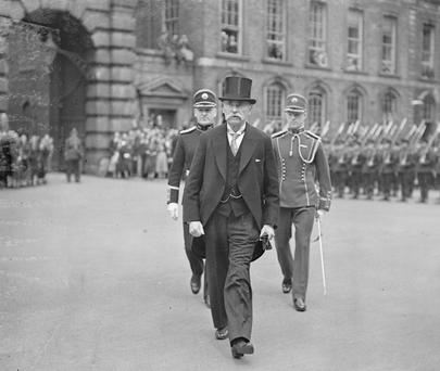 Ireland's first President, Douglas Hyde. (Photo by Keystone/Getty Images)