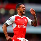 'What Wenger now gets from Walcott is something close to the complete package.' Photo: Getty