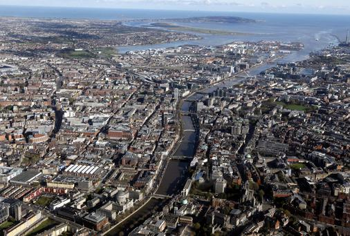 Dublin prices were subdued since the Central Bank rules were introduced, but the latest data shows a sudden surge in prices in the past quarter. Stock Image