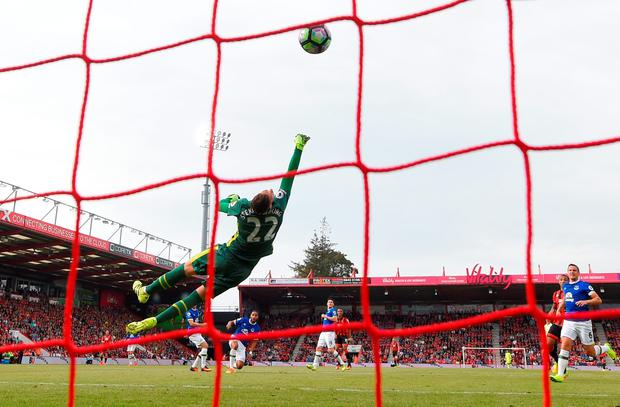 Junior Stanislas' goal. Photo: Getty