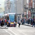 The Luas strike, followed by the Dublin Bus strike, have set a tone, and we also face similar actions being extended nationwide via disputes in Bus Éireann and Iarnród Éireann Picture: Gerry Mooney
