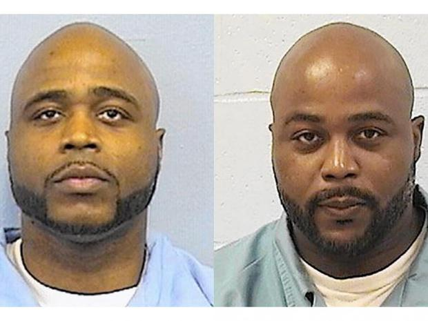 Karl Smith, left, and Kevin Dugar. This week, Smith confessed to a 2003 homicide that his twin brother was convicted of
