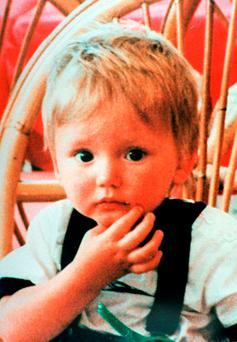 Undated handout file photo of Ben Needham as police investigating the disappearance of the missing toddler will begin excavation work on the Greek island of Kos on Monday in the search for possible remains