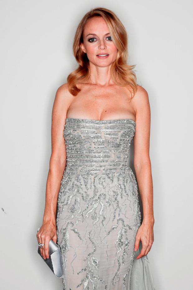 Heather Graham poses for a portrait during amfAR Milano 2016 at La Permanente on September 24, 2016 in Milan, Italy. (Photo by Vittorio Zunino Celotto/Getty Images for amfAR)