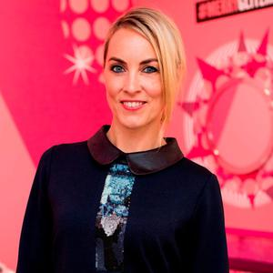 Kathryn Thomas at the exclusive Boots Christmas preview event in the RHA Gallery in Dublin. Picture: Anthony Woods