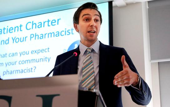Mr Harris insisted he 'stands over' the independent report on University Hospital Waterford. Pic Tom Burke