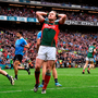 Andy Moran reacts after missing a goal chance for Mayo. Photo by David Maher/Sportsfile