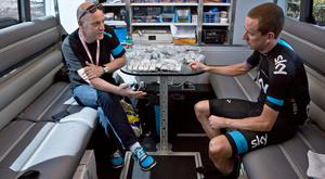 Sky general manager Dave Brailsford oversaw Bradley Wiggins' Tour de France success in 2012