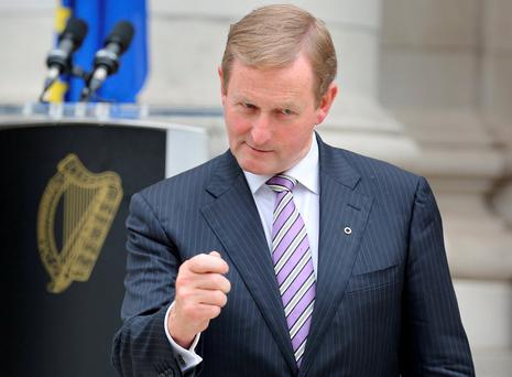 Fine Gael must urgently address how and when Enda Kenny will exit the leadership. Photo: Tom Burke
