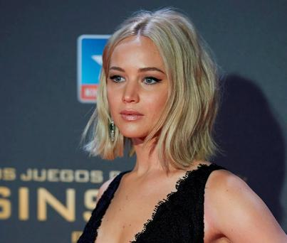 Jennifer Lawrence had naked pictures of herself posted online. Photo by Carlos Alvarez/Getty Images