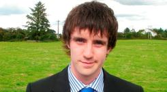 Andrew Dolan (20) died after he was assaulted assaulted in Mullingar in December 2011