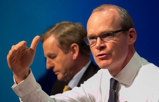 Housing Minister Simon Coveney. Photo: Gareth Chaney Collins