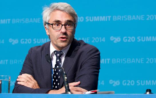 Director of the Centre for Tax Policy and Administration (OECD) Pascal Saint-Amans. (Photo by Dominika Lis/G20 Australia via Getty Images)