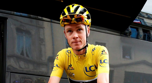 Chris Froome. Photo: Juan Medina/Reuters