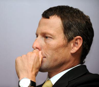 Lance Armstrong. Photo: Gabriel Bouys/AFP/Getty Images