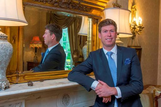 Ettienne Van Vrede, general manager of Hayfield Manor, Cork. Pic Michael Mac Sweeney/Provision