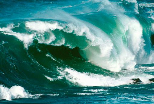 The company's West Wave project will involve trialling five devices capable of generating electricity from wave energy,and will be funded through a €23m EU grant and from its own resource. Stock Image