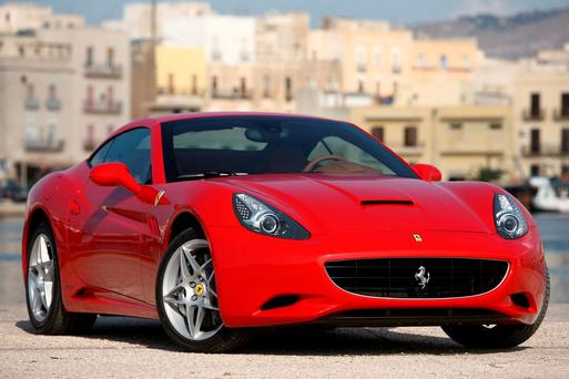 Dr Eddie O'Donnell sold his Ferrari, similar to the one pictured, as part of a deal for a McLaren that never materialised.