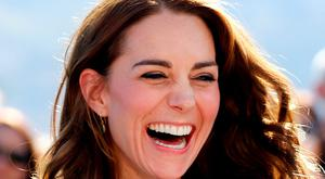 Britain's Catherine, Duchess of Cambridge, reacts while sampling food during the Taste of British Columbia event at Mission Hill winery in Kelowna, British Columbia, Canada, September 27, 2016. REUTERS/Chris Wattie