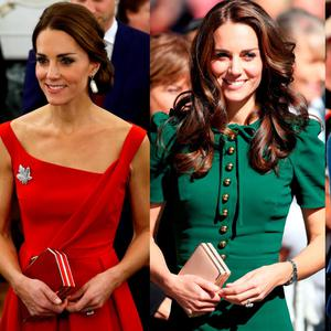 Kate Middleton during the royal Canada tour