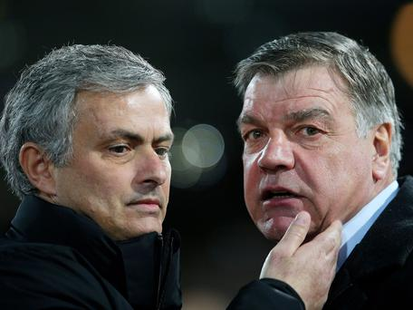 Jose Mourinho and Sam Allardyce