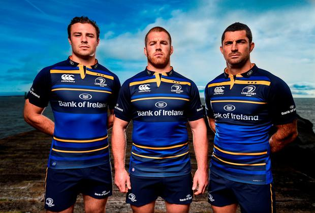 Canterbury have unveiled the new Leinster European jersey which will be available exclusively from Life Style Sports – www.lifestylesports.com. Photo: Sportsfile