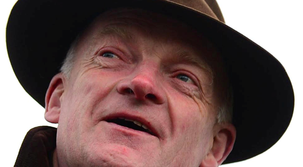 Trainer Willie Mullins is aiming for glory with New Kid In Town at Clonmel today. Picture: Healy Racing