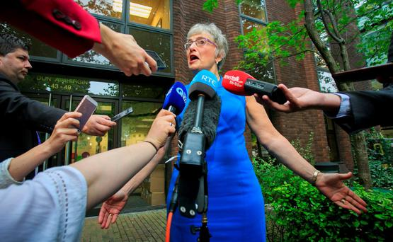 Minister for Children and Youth Affairs, Dr Katherine Zappone. Photo: Gareth Chaney Collins