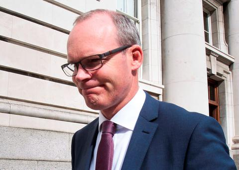 Simon Coveney is expected to battle Leo Varadkar for the leadership of Fine Gael. Photo: Tom Burke