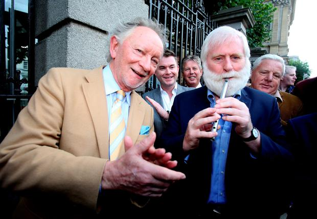 Phil Coulter and John Sheahan. Photo: Tom Burke