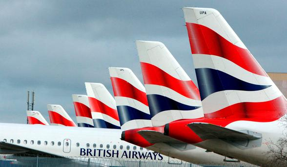Aer Lingus's parent company IAG has announced a partnership agreement between British Airways and Qatar which will improve links between the UK, continental Europe, Asia, Middle East and Africa. Photo: Steve Parsons/PA Wire