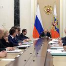 Russian President Vladimir Putin chairs a meeting with members of the government at the Kremlin in Moscow, Russia, September 28, 2016. Sputnik/Kremlin/Alexei Nikolsky