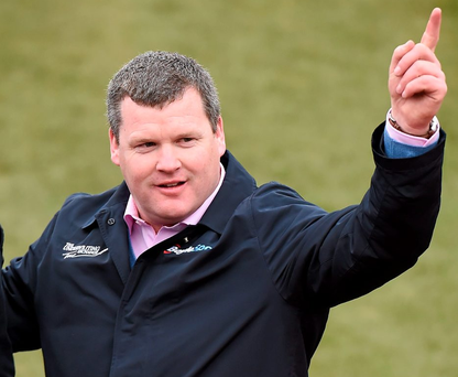 Gordon Elliott will get up to 20 horses arising from the shock split between champion owner Gigginstown and champion trainer Willie Mullins, notably Apple's Jade and Don Poli. Photo: Sportsfile