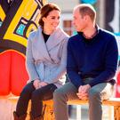 The Duke and Duchess of Cambridge at a First Nation cultural welcome in Carcross Commons, Canada, on the fifth day of the Royal Tour to Canada.