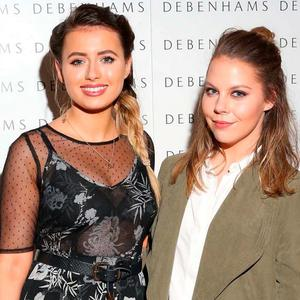 Rachel Morton and Kellie Masterson at Debenhams' Autumn/Winter '16 fashion show at Christ Church Catherdral. Picture: Marc O'Sullivan