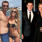 (L to R) Dustin Johnson and Paulina Gretzky, Rory McIlroy and Erica Stoll and Danny and Nicole Willett