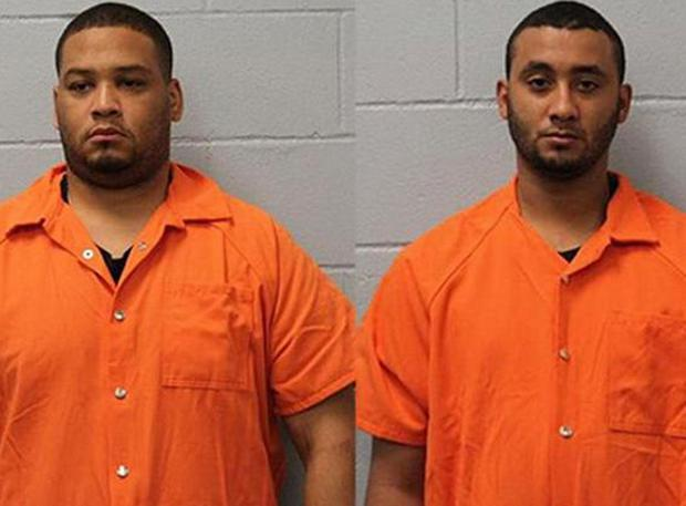 Derrick Stafford, 32, and Norris Greenhouse Jr, 23, await separate trials on second-degree murder and attempted second-degree murder charges (Louisiana Police Department)