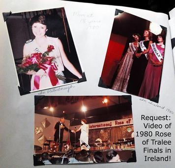 A Canadian man is looking for footage of the 1980 Rose of Tralee for his grandmother. Picture: Reddit.