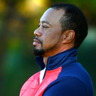 USA vice-captain Tiger Woods has been giving players on the team plenty of advice and tips in the build-up to the Ryder Cup. Picture: Sportsfile