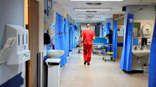 Nearly one in five patients nationally has waited on a trolley for more than nine hours for a bed this year (Stock picture)