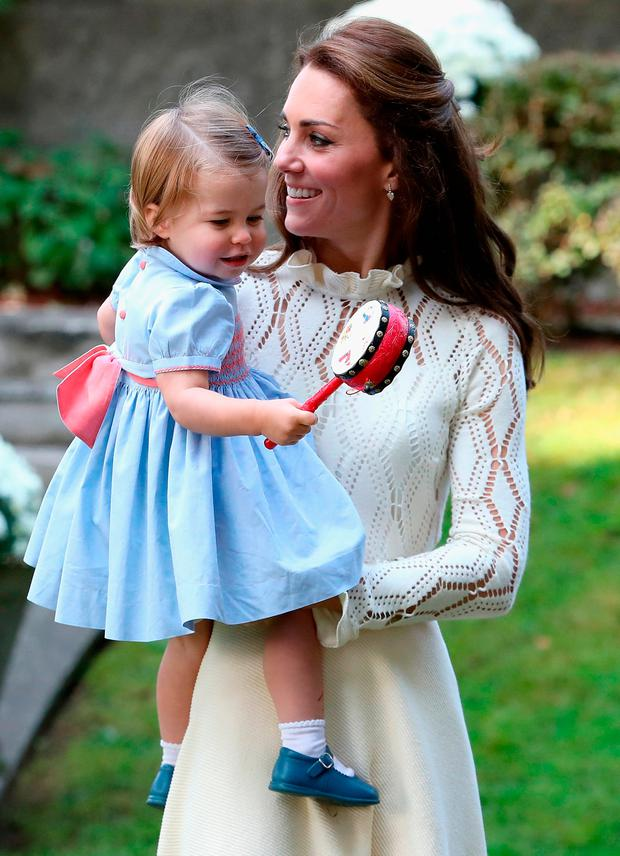 Kate Middleton reveals Princess Charlotte's adorable new ...