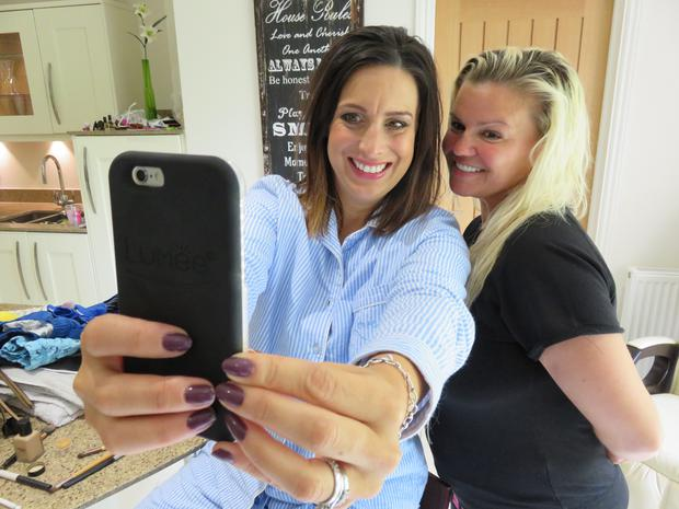 Lucy Kennedy spends three days getting to know Kerry Katona and her family in the next episode of Livin with Lucy. Pic: TV3