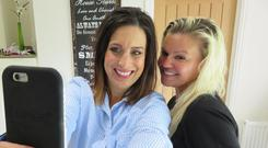 Lucy Kennedy spent three days getting to know Kerry Katona and her family in Livin with Lucy. Pic: TV3