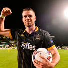 Ciaran Kilduff of Dundalk celebrates his side's victory