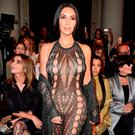 Kim Kardashian attends the Balmain show as part of the Paris Fashion Week Womenswear Spring/Summer 2017 on September 29, 2016 in Paris, France. (Photo by Pascal Le Segretain/Getty Images)