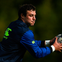 Robbie Henshaw during Leinster squad training at UCD in Belfield